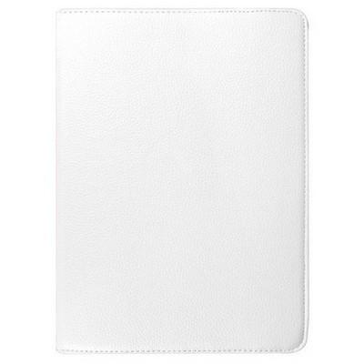 Microsonic Ipad Pro 12.9 Kılıf 360 Dönerli Stand Deri Beyaz Tablet Kılıfı