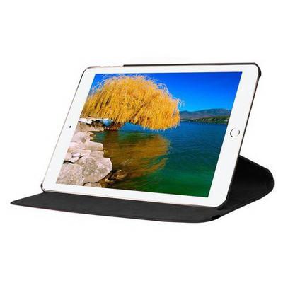 Microsonic Ipad Pro 12.9 Kılıf 360 Dönerli Stand Deri Siyah Tablet Kılıfı