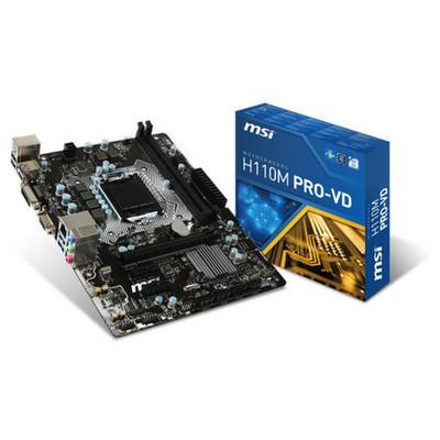 MSI H110M Pro-VD Intel Anakart