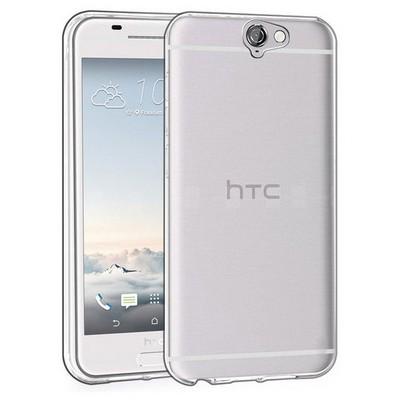 Microsonic Htc One A9 Kılıf Transparent Soft Beyaz Cep Telefonu Kılıfı