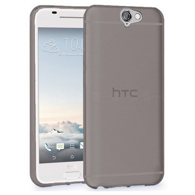 Microsonic Htc One A9 Kılıf Transparent Soft Siyah Cep Telefonu Kılıfı
