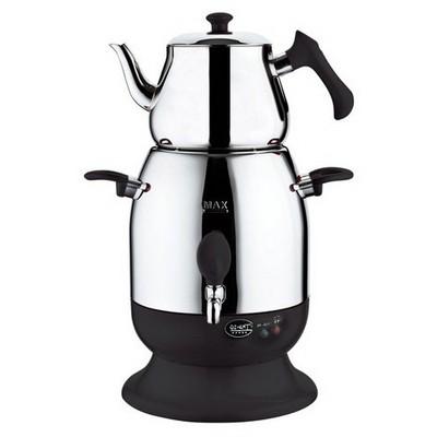 Özkent K623 Marmaris Semaver - Siyah Çay Makinesi