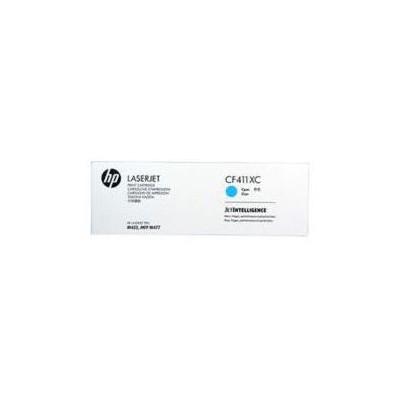 HP Cf411xc (410x) Cyan Taahütlü Yüksek Kapasiteli Toner 5.000 Sayfa Kartuş