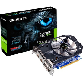 Gigabyte GTX750TD5-2GI 2GB 128BİT GDDR5 16X Ekran Kartı
