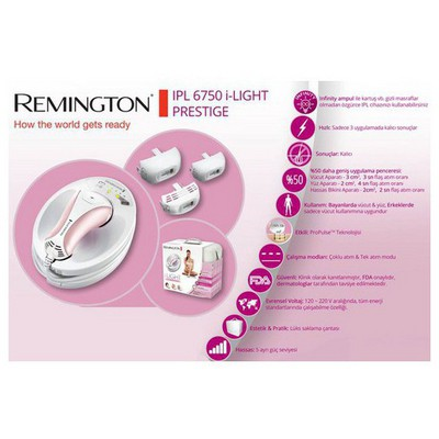 Remington IPL6750 i-Light Prestige Lazer Epilasyon Cihazı