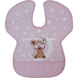 Sevi Bebe 12 Büyük Önlük Pembe Mama Önlüğü
