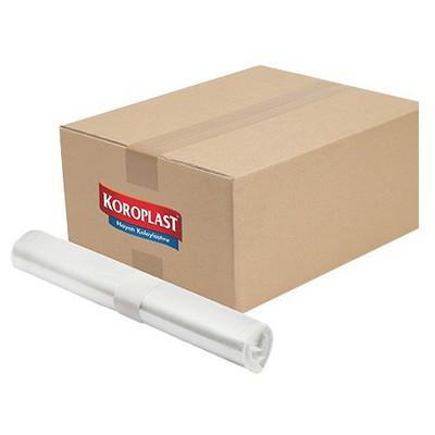 Koroplast Çöp Poşeti Çok Amaçlı Jumbo Boy 80 X 110 Cm Şeffaf 1 Koli Çöp Torbaları