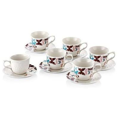 Neva N641 Spring 6'lı Kahve Fincan Seti Çay Seti