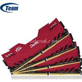 Team Dark (tm4d3000q32) 32gb, (4x8gb) Ddr4-3000mhz, Cl16, (soğutuculu) Bellek RAM