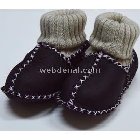 Tafyy Taffy 489001 Deri Bebek Patiği Bordo 0-8 Ay Ayakkabı & Patik