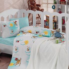 Cotton Box 2050 Battaniyeli Bebek Nevresim Takımı Bambiş Nevresim / Pike Takımı