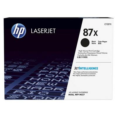 HP 87X  Siyah Yüksel Kapasiteli  18.000 Sayfa CF287X Toner