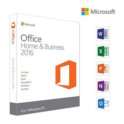 Microsoft Office Ev Ve Iş 2016, Türkçe, Kutu (home And Business) - T5d-02296 Ofis Yazılımı