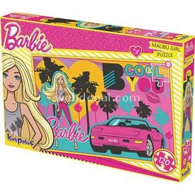 Kirkpapuç Barbie Malibu Girl Çocuk Puzzle