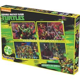 Kirkpapuç Ninja Turtles Heroes In Shell Çocuk Puzzle