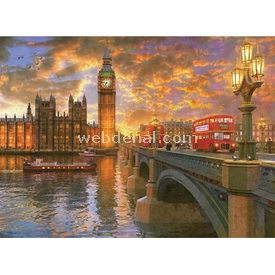 Anatolian 1000 Parça  Londra'da Günbatımı Puzzle