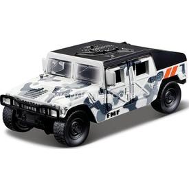 Maisto Metal Forces Askeri Savaş Aracı Jeep Humvee 10 Cm Beyaz Kamufla Arabalar