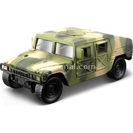 Maisto Metal Forces Askeri Savaş Aracı Jeep Humvee 10 Cm Yeşil Kamufla Arabalar