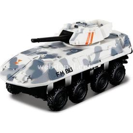 Maisto Metal Forces Askeri Savaş Aracı Tank Xray 10 Cm Beyaz Kamuflaj Arabalar