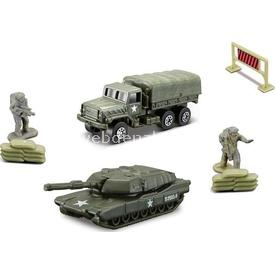 Maisto Metal Forces Askeri Araç Ve Figür Seti 7 Parça Model 1 Arabalar