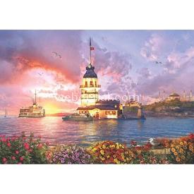 Anatolian 2000 Parça  Kız Kulesi'nde Akşamüstü Puzzle