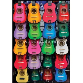 Anatolian 500 Parça  Müziğin Renkleri Puzzle