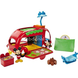 Fisher-price Mickey Nin Karavani Oyun Seti Arabalar