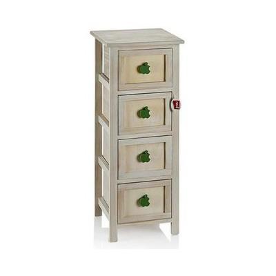 Neva N1062 4 Lü Modern Cabinet Sebzelik
