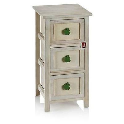 Neva N1063 3 Lü Modern Cabinet Sebzelik