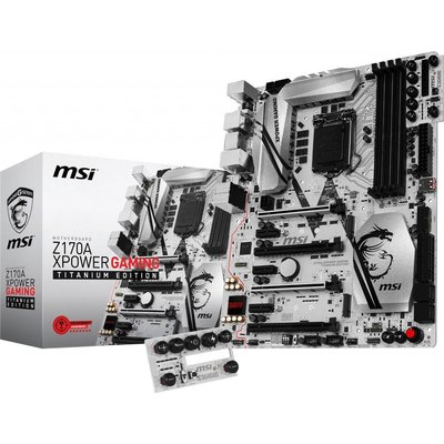 MSI Z170A Xpower Gaming Titanium Edition Intel Anakart