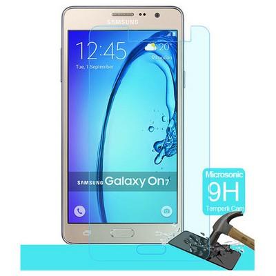Microsonic Samsung Galaxy On7 Temperli Cam Ekran Koruyucu Kırılmaz Film Ekran Koruyucu Film