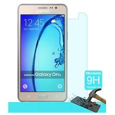 Microsonic Samsung Galaxy On5 Temperli Cam Ekran Koruyucu Kırılmaz Film Ekran Koruyucu Film