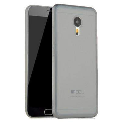 Microsonic Meizu M2 Note (note 2) Kılıf Transparent Soft Siyah Cep Telefonu Kılıfı