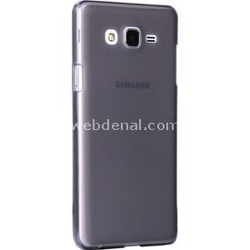 Microsonic Samsung Galaxy On7 Kılıf Transparent Soft Siyah Cep Telefonu Kılıfı