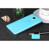 Microsonic Samsung Galaxy On5 Kılıf Transparent Soft Mavi Cep Telefonu Kılıfı