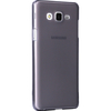 Microsonic Samsung Galaxy On5 Kılıf Transparent Soft Siyah Cep Telefonu Kılıfı
