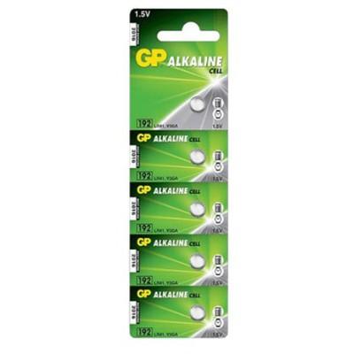GP Alkalin Pil 1.5v Kartela Hafıza Buton 5 Adet Model Lr41 192 Pil / Şarj Cihazı