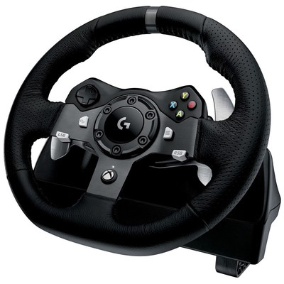 Logitech G920 Drıvıng Force Racıng Wheel 941-000123 Gamepad / Joystick