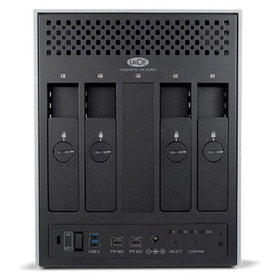 LaCie 24TB 4big Quadra USB 3.0 NAS (LAC9000509EK)
