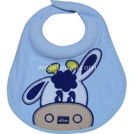 Sevi Bebe 50 Ağız Salgısı Önlüğü Mavi Mama Önlüğü