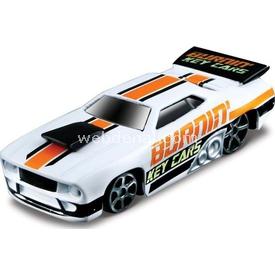 Maisto Burning Key Cars Beyaz Turuncu Oyuncak Araba Arabalar