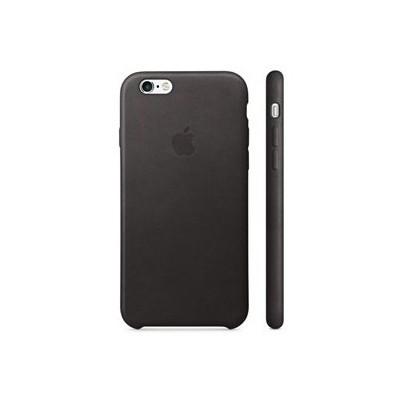 Apple Iphone 6s Plus Için Deri Kılıf - Siyah Cep Telefonu Kılıfı