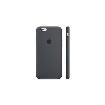 Apple iPhone 6S Plus için Silikon Kılıf - Kömür Grisi Cep Telefonu Kılıfı