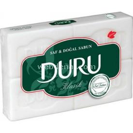 Duru Beyaz Katı Sabun 900 Gr 4'lü Paket Bebek Sabunu