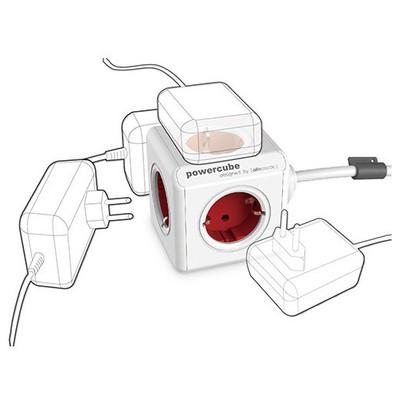 Pratigo Powercube Extended 1.5 M Kablolu 5'li Priz Çoklayıcı Akım Korumalı Priz