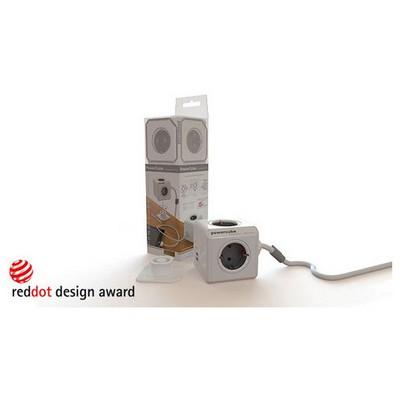 Pratigo POWERCUBE EXTENDED 1.5 M KABLOLU 4'LÜ PRİZ ÇOKLAYICI ve 2 USB Akım Korumalı Priz