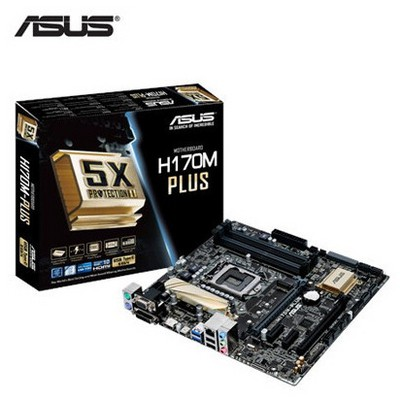 Asus H170M-plus Intel Anakart