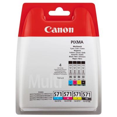 Canon CLI-571 C/m/y/bk Multı Blister - 0386c005aa Kartuş