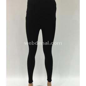 Trndy Trendy Hamile Cepli Tayt Siyah M Pantolon, Şort, Tayt