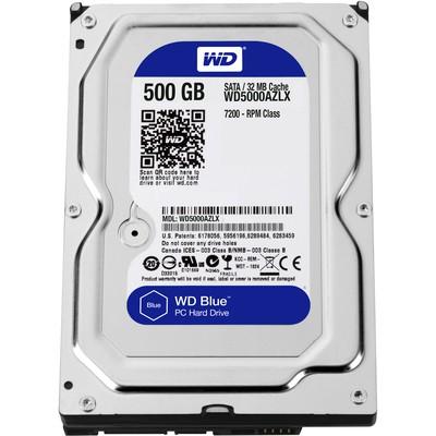 WD 500gb Blue 3.5 7200rpm 32mb Sata3 Wd5000azlx Hard Disk